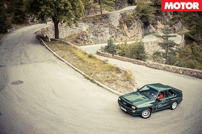 Audi sport quattro 1984 driving