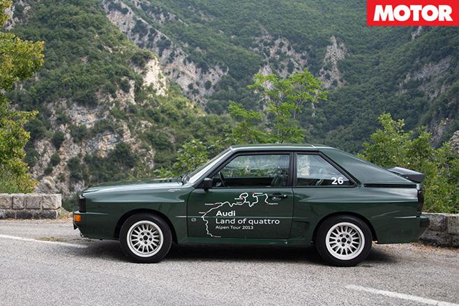 Audi sport quattro 1984 side