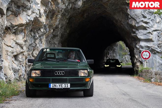 Audi sport quattro 1984 front