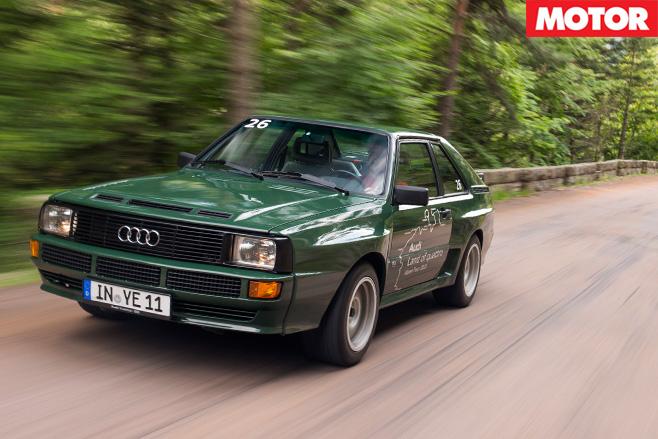 Audi sport quattro 1984 driving 2