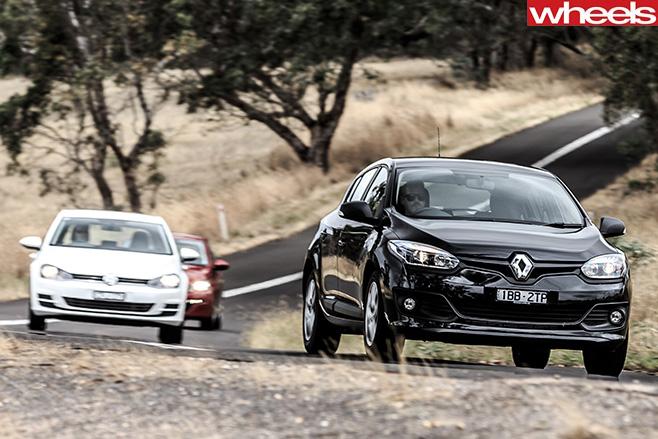 Peugeot -308-Volkswagen -golf -Renault -Megane
