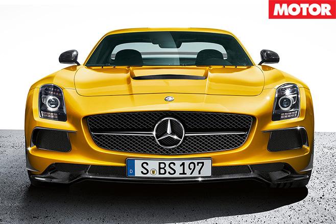 Mercedes-AMG supercar 1