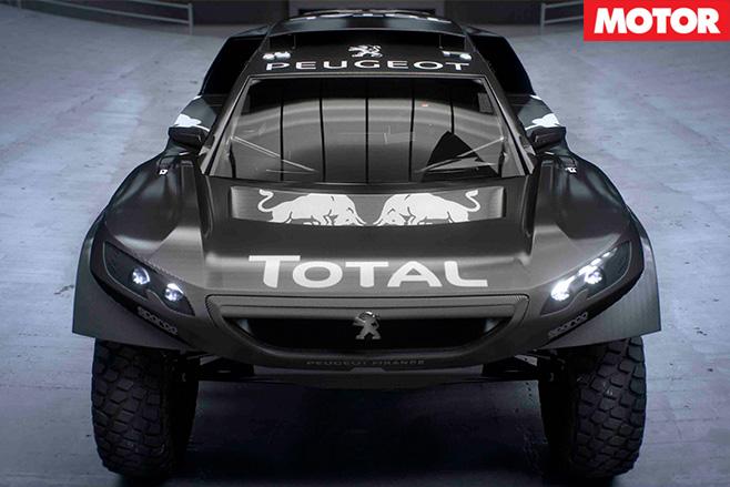 Peugeot 2008 DKR machine 3