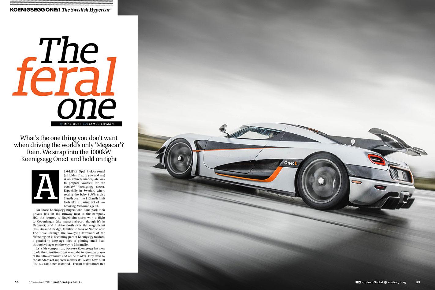 Koenigsegg -One1