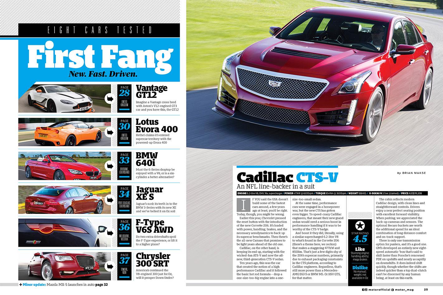 Cadillac -CTS-V