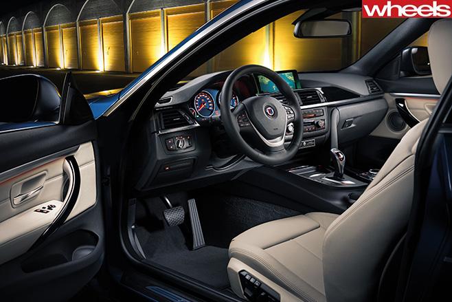BMW-Alpina -interior