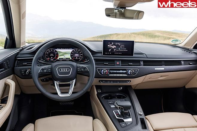 Audi -A4-First -Drive -dash