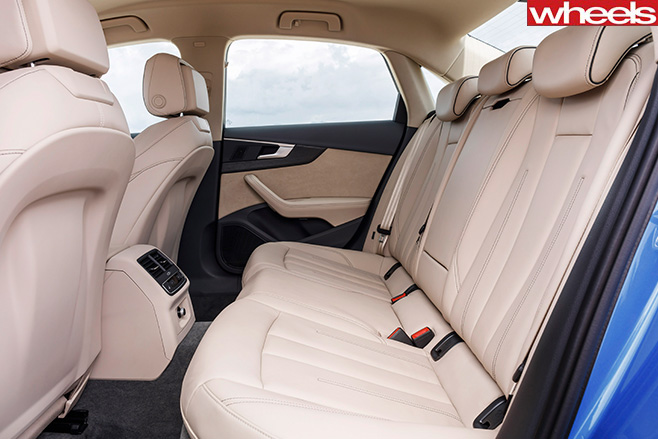 Audi -A4-First -Drive -rear -seats