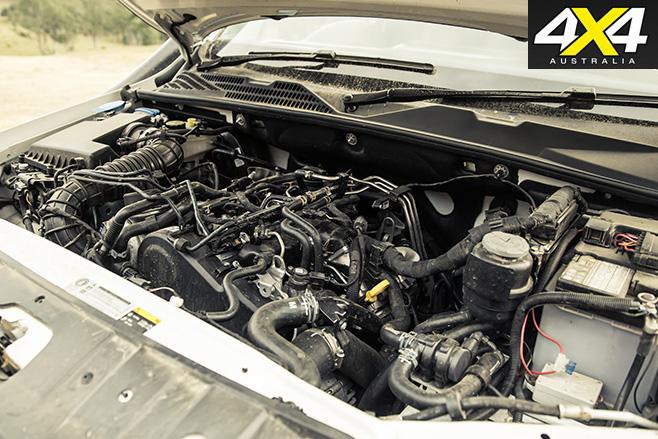 Dark vw amarok engine