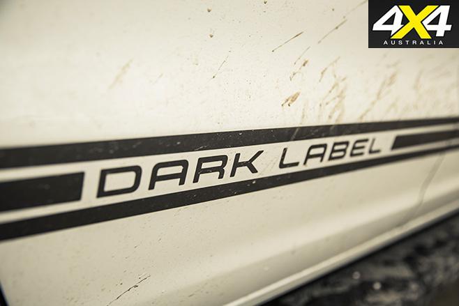 Dark vw amarok label