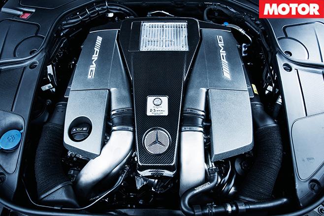 Mercedes-benz s63 engine