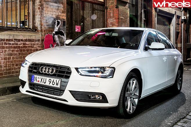 Audi -A4-front