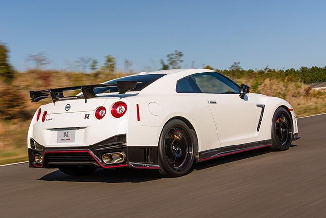 Nissan gtr nismo rear