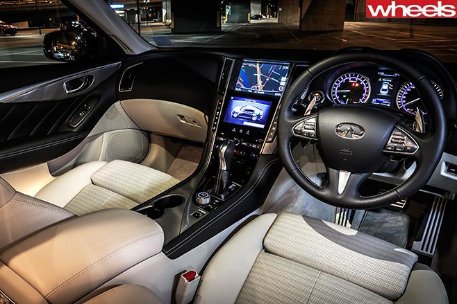 Infinit -Q50-interior