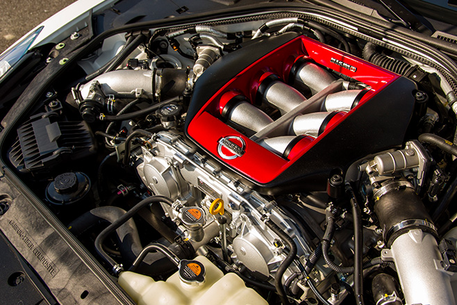 Nissan gtr nismo engine