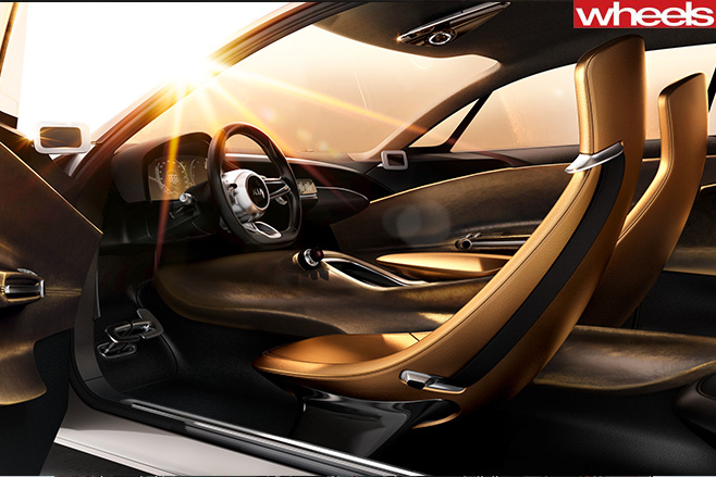 Kia -GT-Concept -Interior