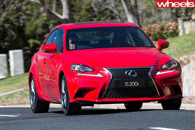 Lexus -Is 200t -front -of -car