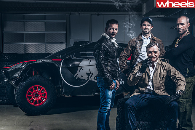 WRC-Sebastien -Loeb -Cyril -Despres -Carlos -Sainz -Stephane -Peterhansel