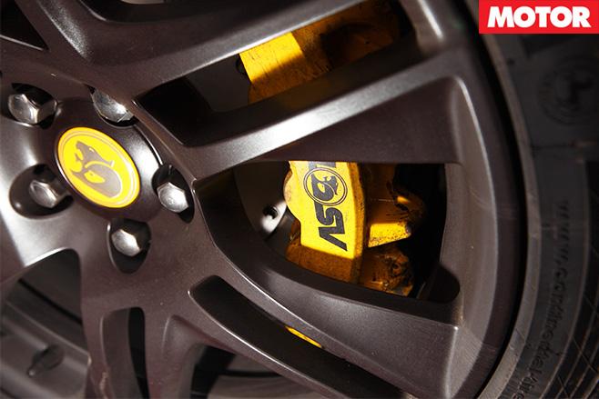HSV GTS wheel caliper