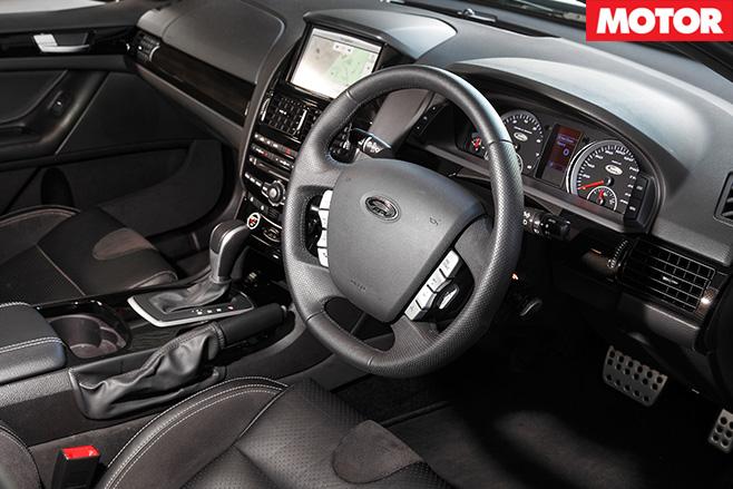 FPV GT R-Spec interior