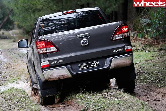 Mazda -BT-50-rear