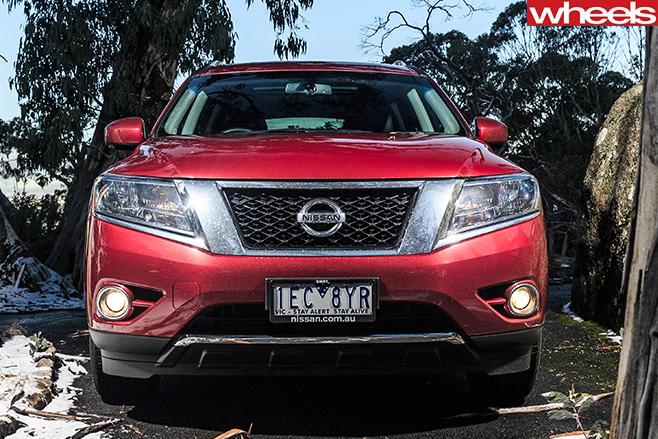 Nissan -Pathfinder -front