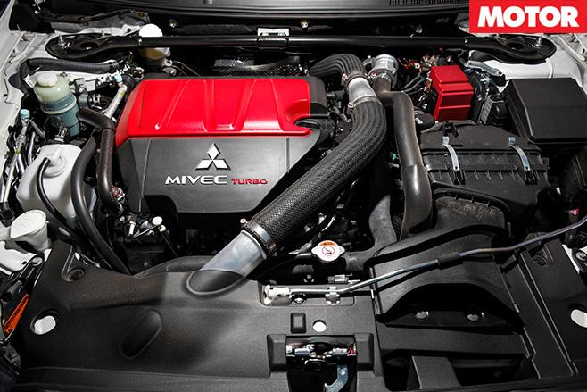 Lancer Evo X engine