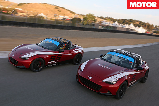 Mx-5 cup racer 2