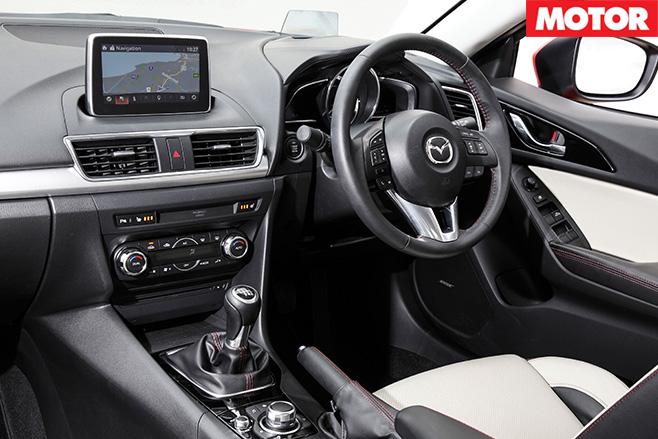 Mazda3 sp25 front