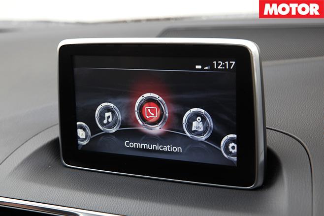 Mazda3 sp25 screen