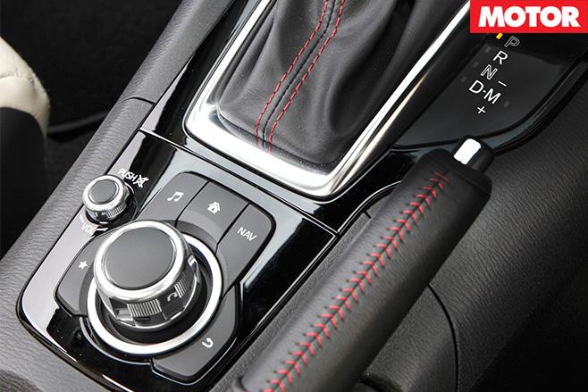 Mazda3 sp25 controller