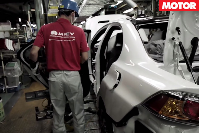 Mitsubishi builds last Lancer Evos 2