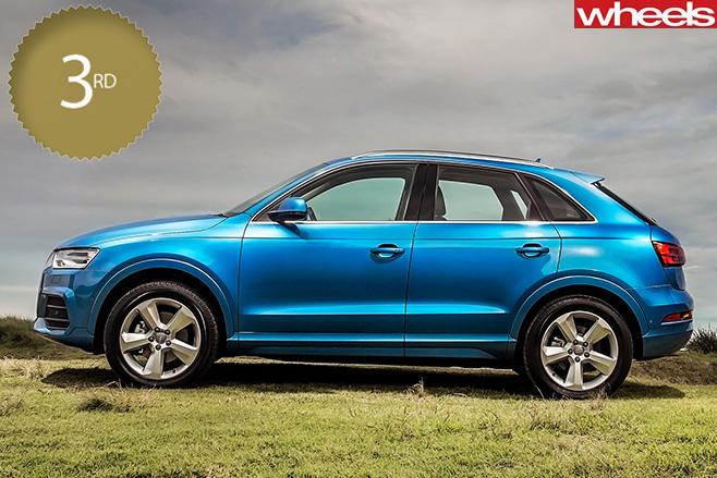 Audi -Q3-blue -side-