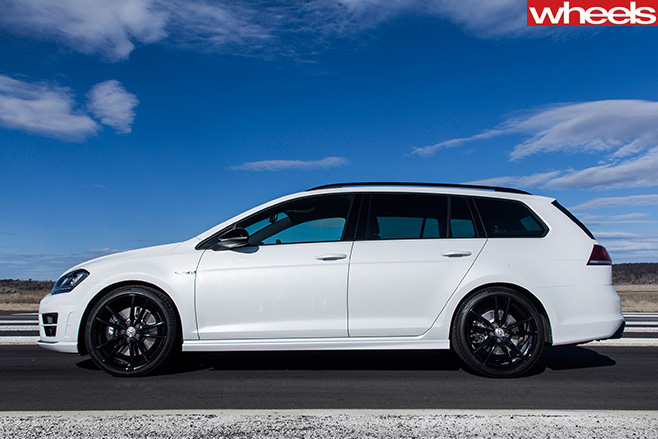 VW Golf R Wolfsburg Review