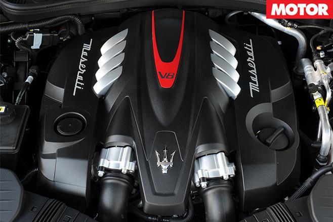 Maserati quattroporte GTS engine
