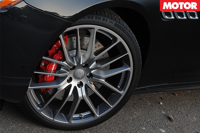 Maserati quattroporte GTS wheel
