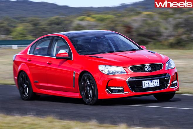 Holden -Commodore -SS-V-Redline -front -side