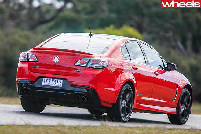 Holden -Commodore -SS-V-Redline -rear