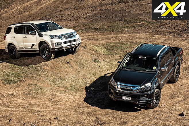 4x4 november isuzu ute