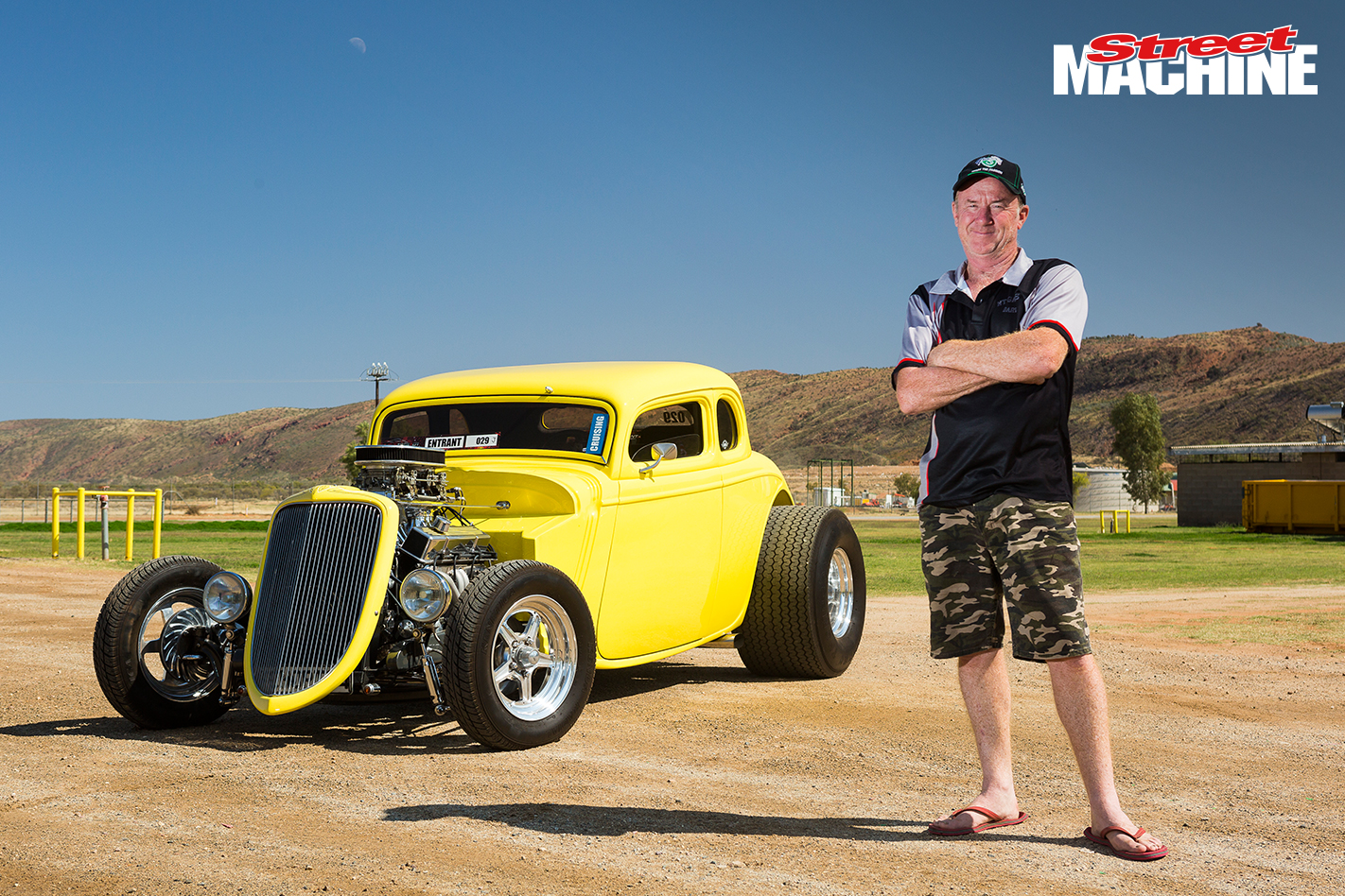 34 Ford Hot Rod Five Window Nw