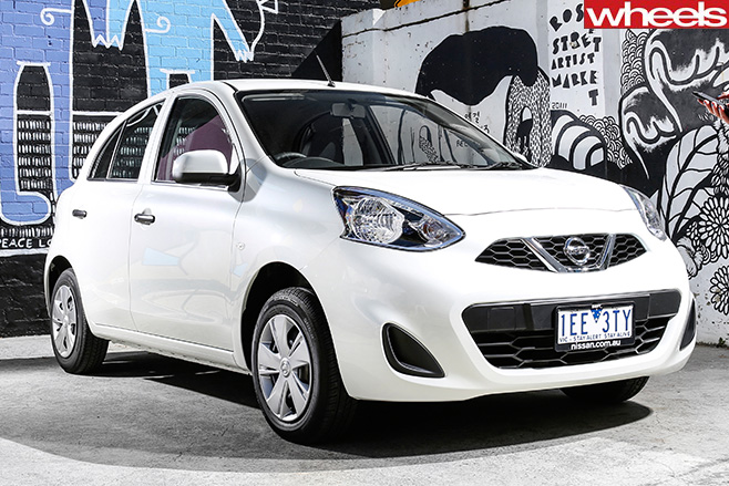 Nissan -Micra -front