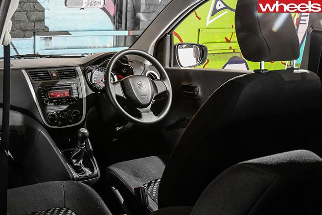 Suzuki -Celerio -interior