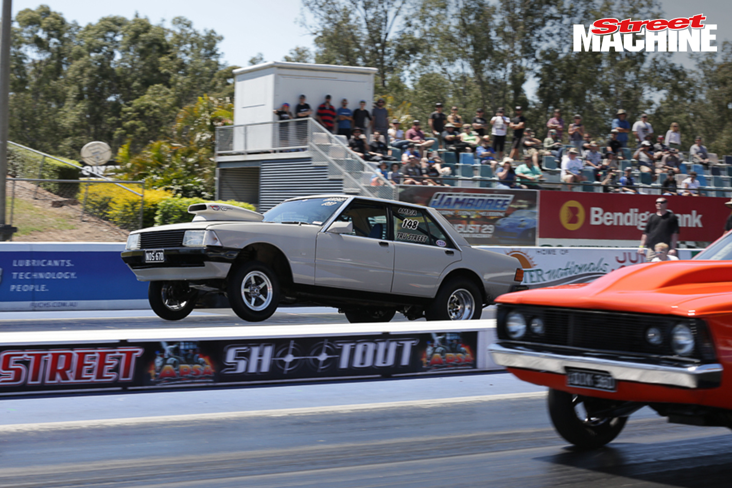 Ford Falcon Drag Car 2795 Nw