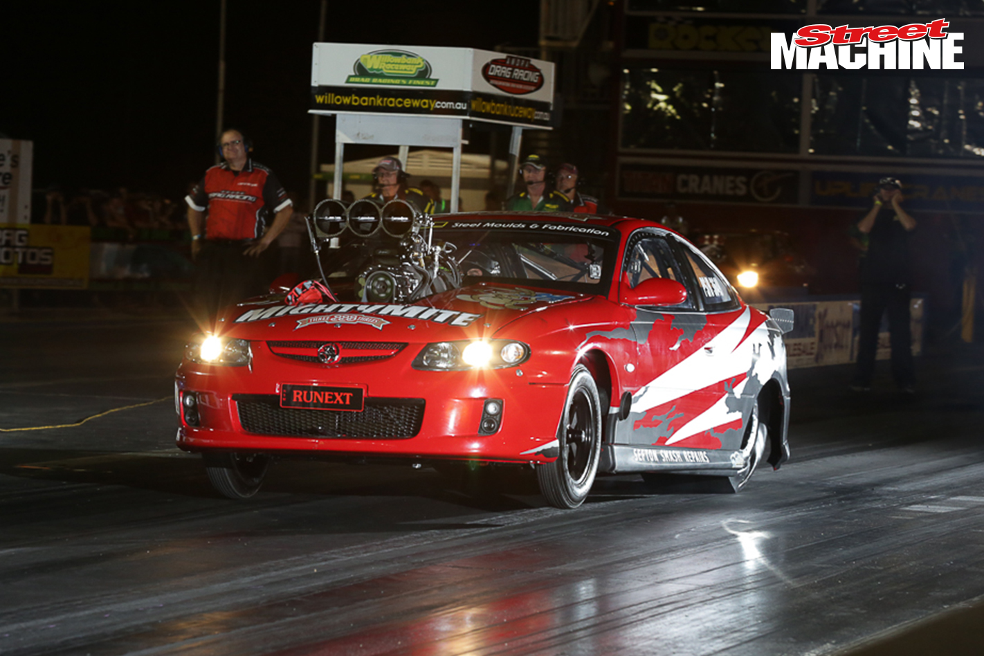 Holden Monaro Drag Race 3479 Nw