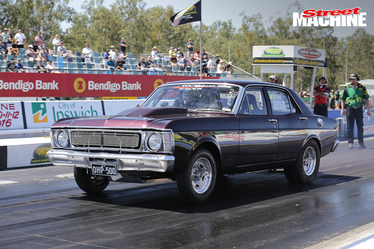 XW Falcon Drag Car 2851 Nw