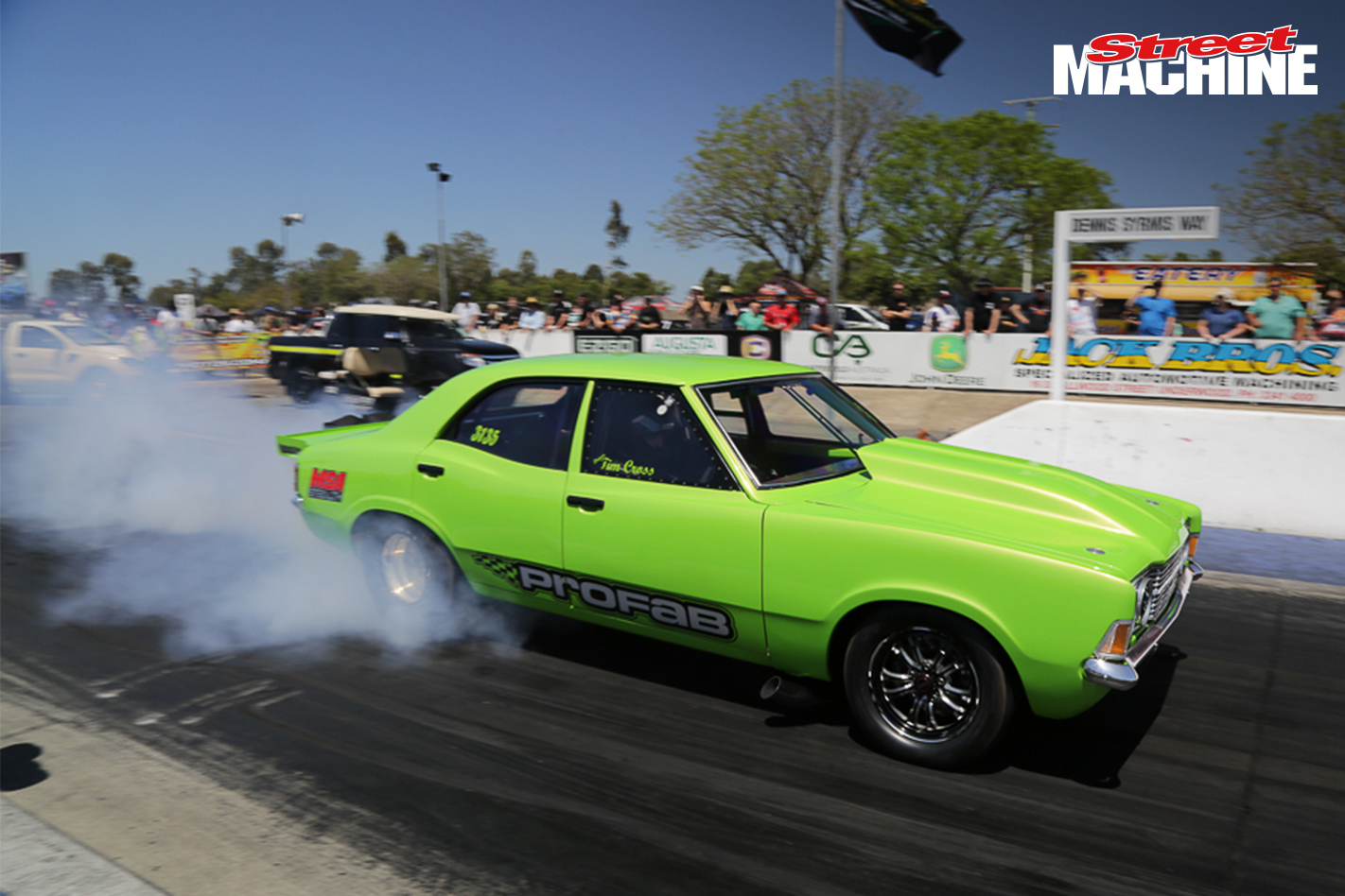 Ford Cortina Drag Car Nw