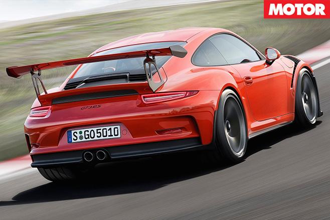 Porsche -911-gt 3-rs