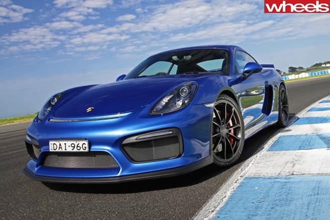 Porsche -Cayman -GT4-front