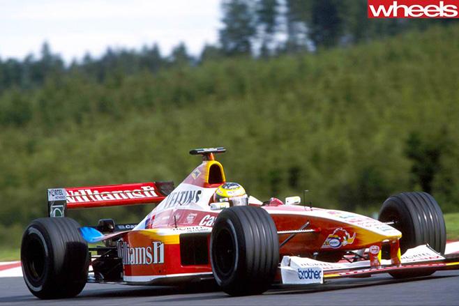 Williams -track -car