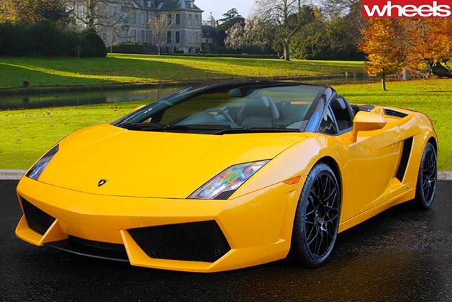 Lamborghini -Spyder